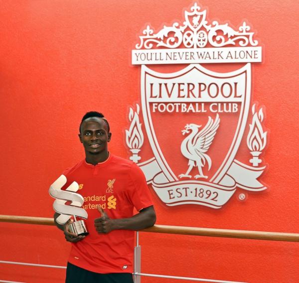 Liverpool FC, Sadio Mané nommé joueur du mois de février