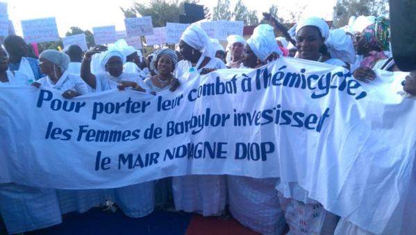Bambilor: les actions du maire magnifiées lors du 8 mars