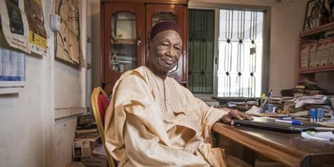 Rencontre avec Djibril Tamsir Niane, défenseur de l'Histoire africaine