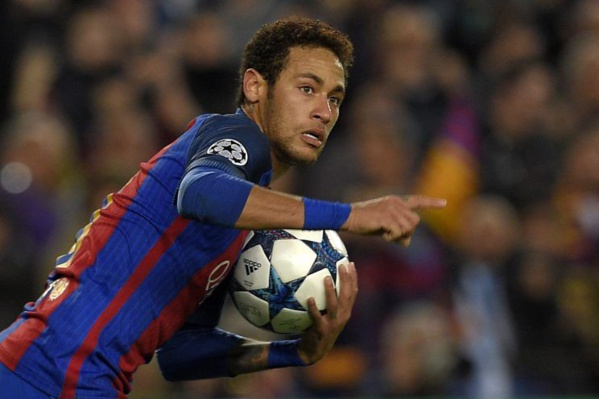 sport football barca neymar moque rabiot kurzawa apres match