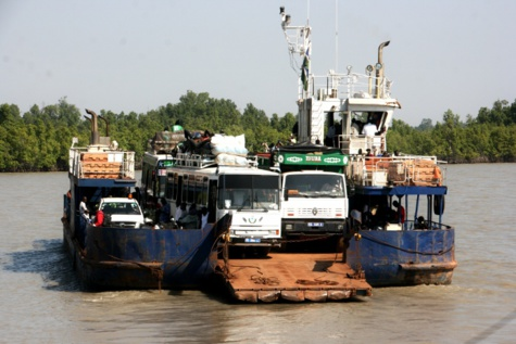 Liaison entre le Sénégal la Gambie : Le bac à l'arrêt la semaine prochaine pour une durée de 30 mois