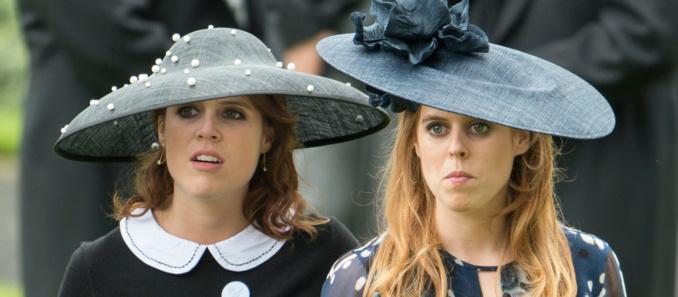 les princesses Béatrice et de sa sœur Eugénie