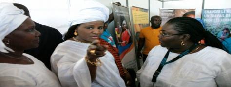 8 mars, journée internationale de la Femme: LES FEMMES DERRIERE LE MINISTRE  MARIAMA SARR POUR L'EMERGENCE DU SENEGAL.