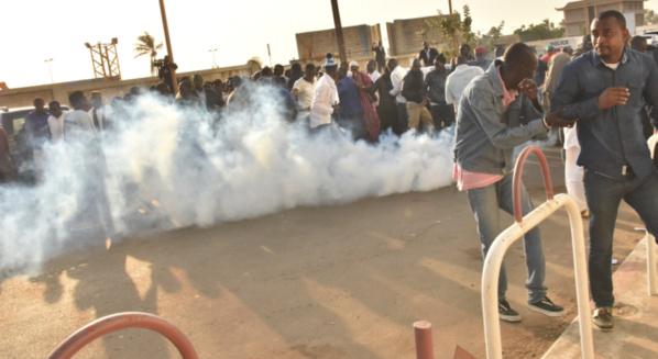 Guédiawaye:  échauffourées entre la police et les jeunes du Grand Parti