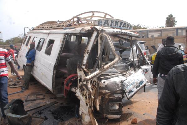 Thiès: un accident fait 3 morts et 16 blessés