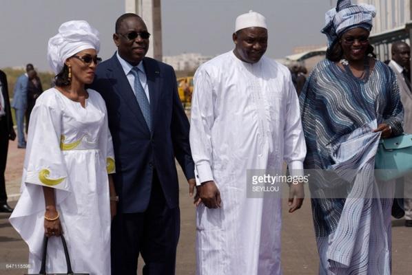 Le président gambien Adama Barrow en visite en France et en Europe