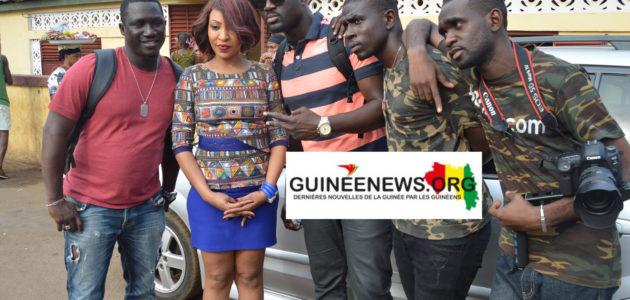 Musique: Vivianne Chidid de nouveau en Guinée pour réaliser un clip