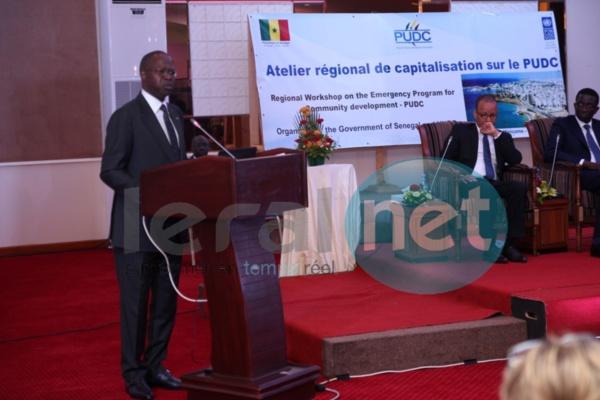Mahammed Boun Abdallah DIONNE :«L'Etat a financé la première phase du PUDC, sur fonds propres, pour 120 milliards F CFA et il sera alloué près de 300 milliards F CFA pour la seconde phase »
