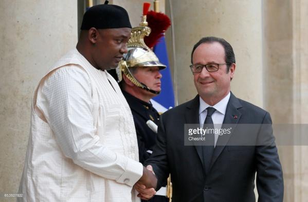 Coopération franco-gambienne: Les présidents François Hollande et Adama Barrow prévoient d'organiser un séminaire sur la justice transitionnelle à Banjul