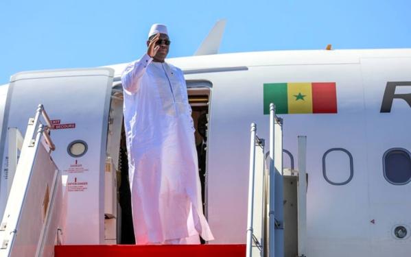 Macky Sall a quitté Dakar vers 11 heures, pour une visite officielle de trois jours en Suisse