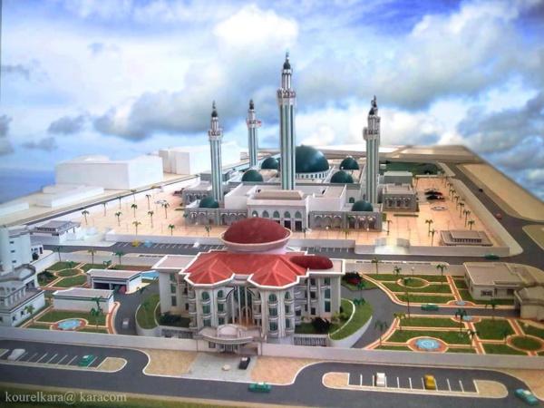 La mosquée Massalikoul Djinane à terme