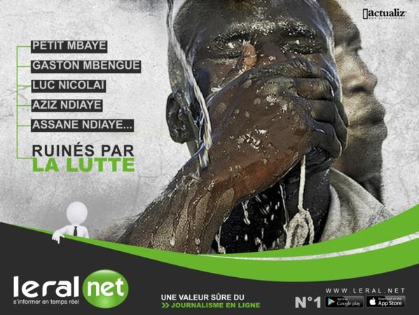 Décryptage Leral: Gaston Mbengue, Petit Mbaye, Luc Nicolaï, Abdou Aziz Ndiaye se ruinent, Yékini, Balla Gaye 2, Modou Lô et Cie deviennent des millionnaires