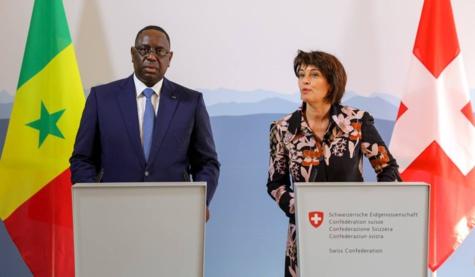Les ressortissants Suisses seront exemptés de visa (Macky Sall)