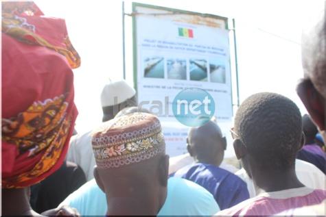 Photos: le Ministre de la Pêche et de l'Economie Maritime, Oumar Guèye à Missira
