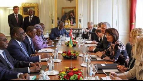 """Macky Sall, en visite à Genève: """"Nous coopérons avec la Gambie dans le respect de sa souveraineté"""""""