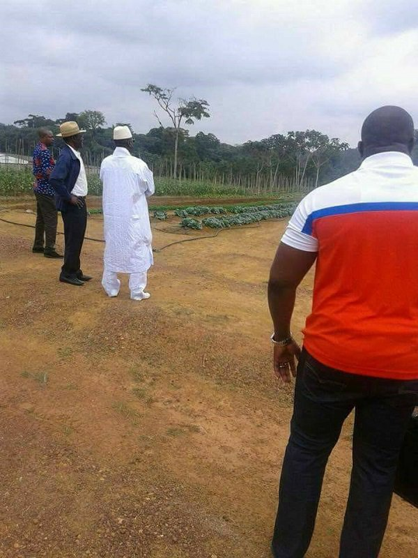 (08) Photos exclusives : Yahya Jammeh a changé de vie, il est devenu…