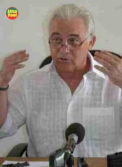JEAN FRANCOIS JADAR, CANDIDAT AU POSTE DE SELECTIONNEUR «Je suis persuadé de pouvoir être l'homme de la situation»