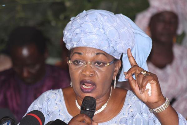 Questions d'actualité au Pm : Aïda Mbodj dénonce le recours systématique à l'appareil judiciaire pour régler les problèmes politiques