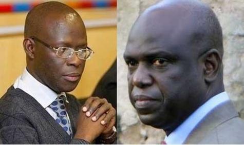 L'ancien et l'actuel maire de Saint-Louis, Cheikh Bamba Dièye et Mansour Faye
