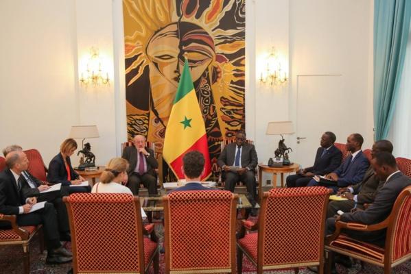 Le Chef de l'Etat a reçu le coprésident paritaire de la commission de l'Union Européenne, M. Louis Michel