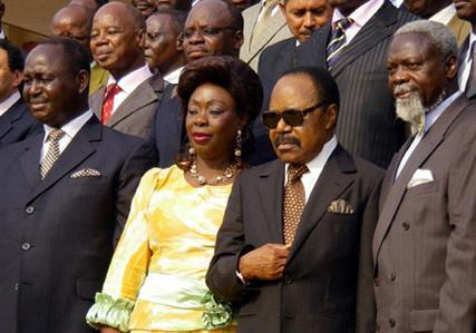 Patassé reconnaît Bozizé comme président