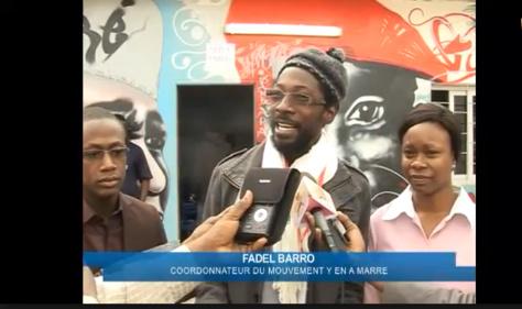 Accusé de préparation d'un coup d'Etat par Moustapha Cissé Lô, Fadel Barro répond par le sourire