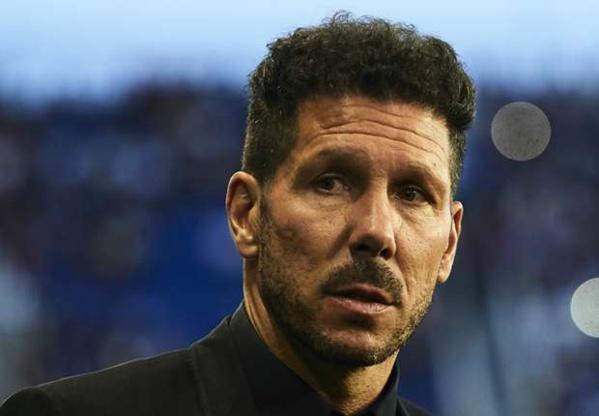 """Atlético Madrid, Simeone : """"Maintenir la troisième place en championnat"""""""