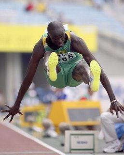Ndiss Kaba Badji élu meilleur sportif 2008