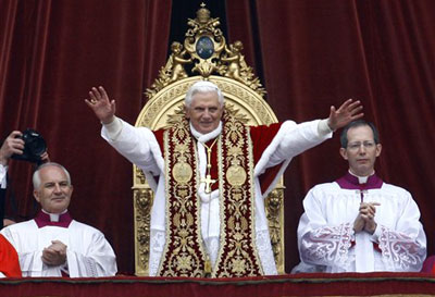 Le pape Benoit XVI s'inquiète pour l'Afrique