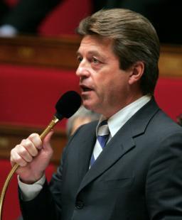 Alain Joyandet au Sénégal (29 décembre 2008)