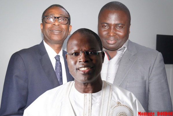 Youssou Ndour rend visite à Bamba Fall et Khalifa Sall