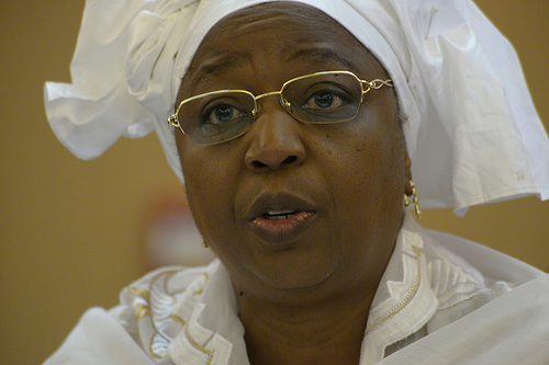 la ministre de la santé et de l'action sociale, Awa Marie Coll Seck