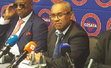 CAF: Ahmad souhaite renégocier un contrat conclu par son prédécesseur Hayatou