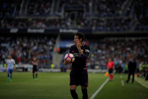 Vidéo-FC Barcelone : le carton rouge de Neymar contre Malaga