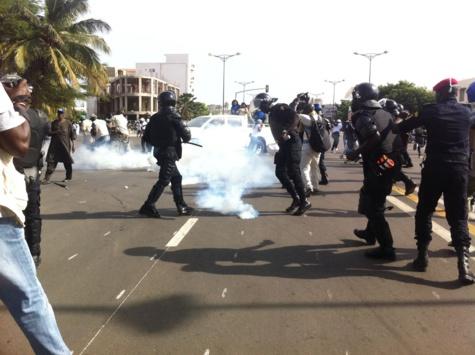 Caravane du « Président banlieusard »:Les partisans de Malick Gakou affrontent  les forces de police