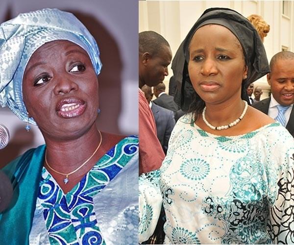 Incendie du Marché Zinc de Kaolack: Mimi Touré et Mariama Sarr en profitent pour solder leurs comptes
