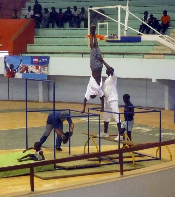 Gymnastique : La sélection nationale boucle 11 jours de préparation à Thiès
