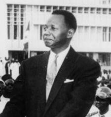 Ancien premier ministre du président sénégalais Léopold Sédar, Mamadou Dia - ici, le 25 mars 2000 à Dakar - est mort le 25 janvier 2009 à Dakar.