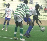 Ligue des champions de football: Djoliba bat Casa sports du Sénégal