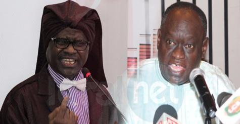 Vive altercation entre Serigne Modou Kara et Me Hadji Diouf à la cérémonie de dédicace du livre de Pape Ngagne Ndiaye