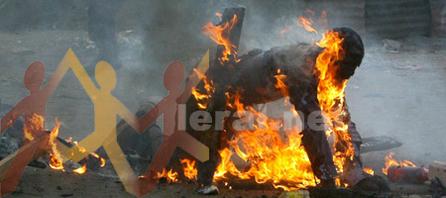 Italie : un immigré brûlé vif par 3 italiens.