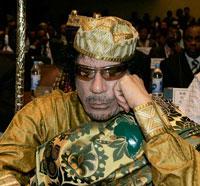 Gêne et inquiètude après l'élection de Khadafi