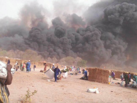 Incendie du Daaka de Médina Gounass: Quatre suspects arrêtés par la Gendarmerie