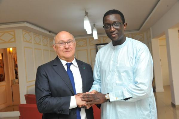 PHOTOS: Visite de M. Michel SAPIN, Ministre des Finances de France, à la Maison du TER
