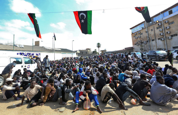 Libye: Des migrants en majorité originaires du Nigéria, du Sénégal et de la Gambie vendus sur des « marchés aux esclaves »