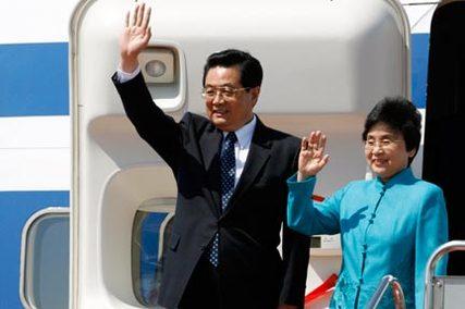 Le président chinois Hu Jintao en tournée