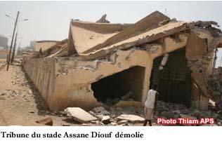 Sit-in et marche samedi du Collectif pour la sauvegarde du stade Assane Diouf