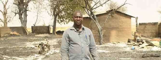 Photo du profil Facebook de Ahmed Abba, correspondant de RFI au Cameroun