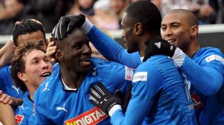 Bundesliga: triplé de Ba et 1ère place pour Hoffenheim