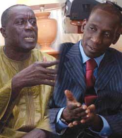 « Quand ces bannis d'AJ / PADS, Osent se disputer devant les Sénégalais. »